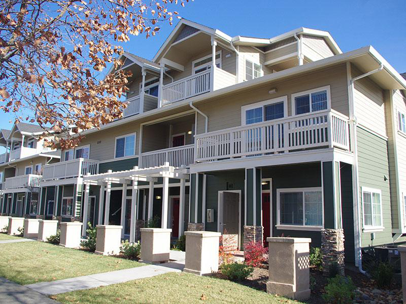 Meritage Villas Townhomes in Davis, CA