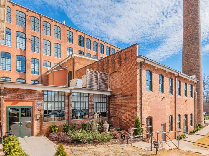 West Village Lofts at Brandon Mill in Greenville, SC